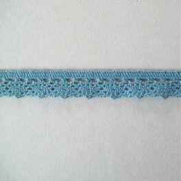 Dentelle bleue 10mm